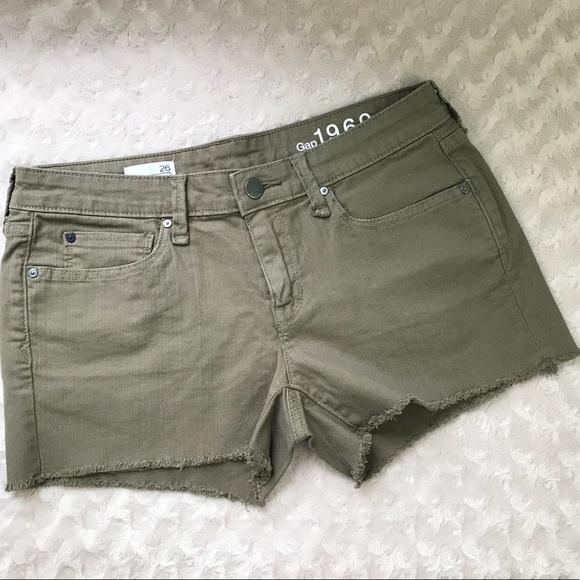 430ade7aa GAP Shorts | 1969 26 Summer Cut Offs Denim Stretch | Poshmark